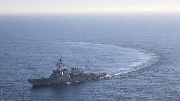 Леонков отреагировал на бегство эсминцев ВМС США от российских Су-24 в Черном море
