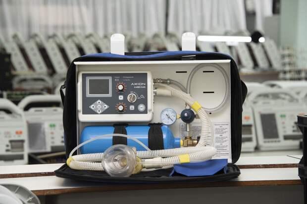 Заводы Удмуртии начнут выпуск аппаратов ИВЛ и бактерицидных ламп