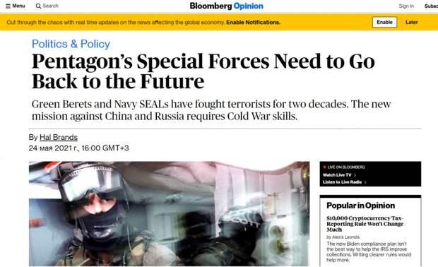 Украинская мечта об американских «котиках»