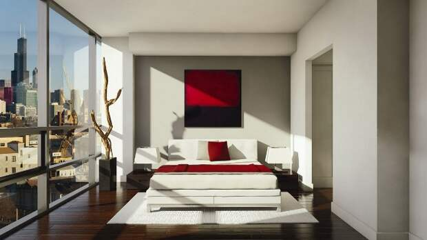 Какие картины можно вешать в спальне над кроватью (35 фото)