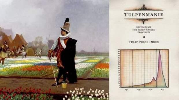 """""""Тюльпанная лихорадка"""" - чем опасен новый биржевой ажиотаж?"""