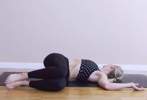 Оздоравливающая йога. 7 поз, которые помогут при боли в животе