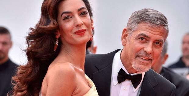 Джордж и Амаль Клуни отпраздновали пятилетнюю годовщину