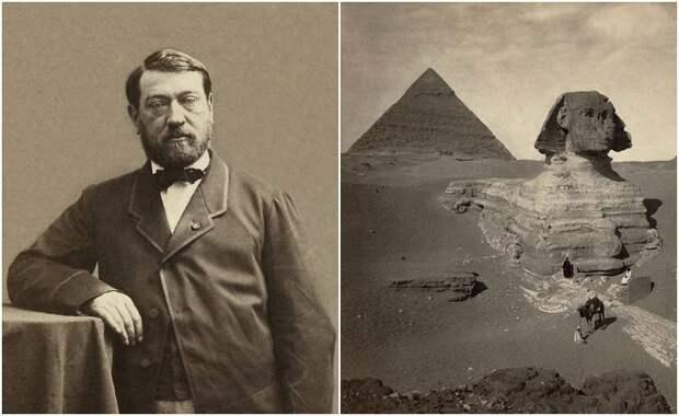 Как француз, который увидел в детстве мумию, откапывал Большого Сфинкса и спасал Египет