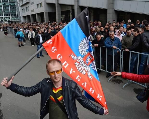 Донбасс в очереди за свободой. Как это было 11 и 12 мая 2014 года