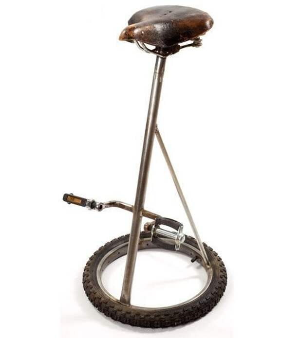 И старые велосипеды идут в ход Фабрика идей, дизайнеры, идеи, интересное, необычное, табуреты