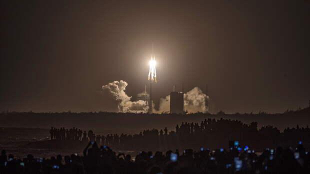 В Пентагоне не планируют сбивать неконтролируемую 20-тонную ступень китайской ракеты
