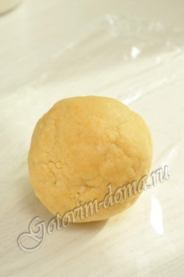 Яблочный пирог со сливками фото 2