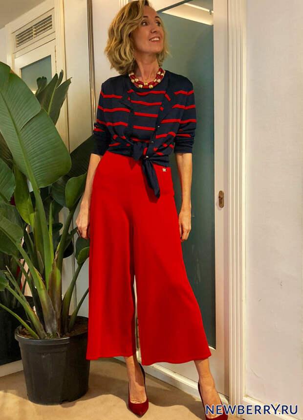 Мода для женщин за 50 от стильной испанки Maica Jáuregui