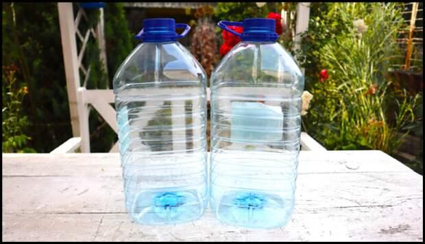 Пятилитровые бутылки постоянно меня выручают. Показываю, что я из них делаю своими руками для дома