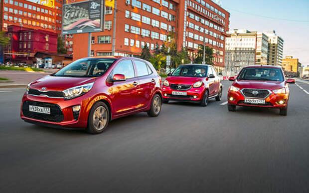 Большой тест маленьких хэтчбеков: Kia Picanto, Datsun mi-DO и Smart ForFour