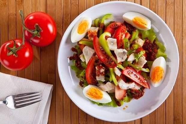 Рыбный салат/Фото: К. Виноградов/BurdaMedia