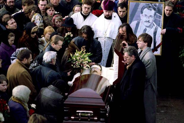 Прощание с Владом Листьевым