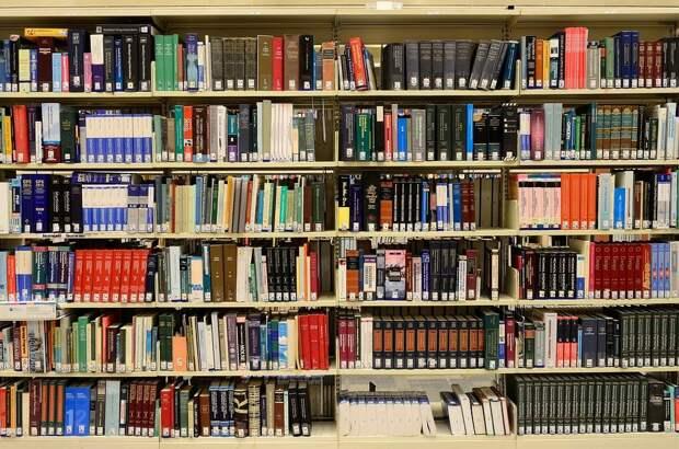 Библиотеки, Книг, Знаний, Информации, Книжные Полки