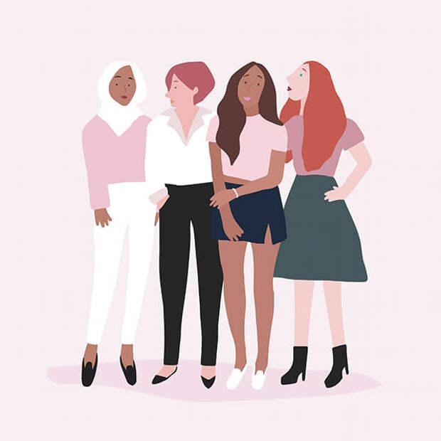 Соски, быт и бодипозитив. Что еще предстоит отстаивать женщинам?