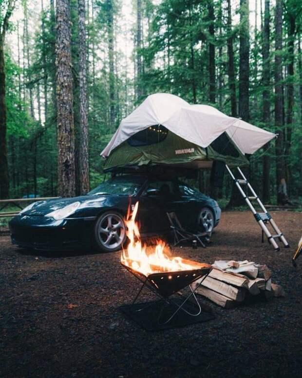 Пикник на Porsche