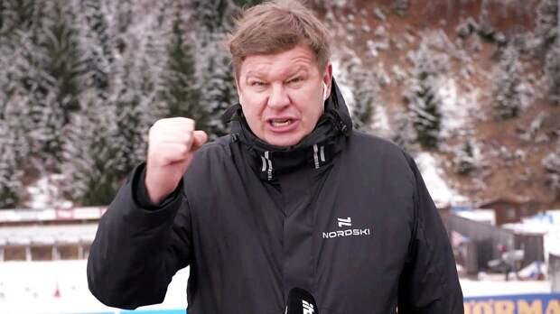 Губерниев об извинениях перед Бе: «Я должен ему лыжи взасос целовать? А на коленях перед ним я должен ползать?»