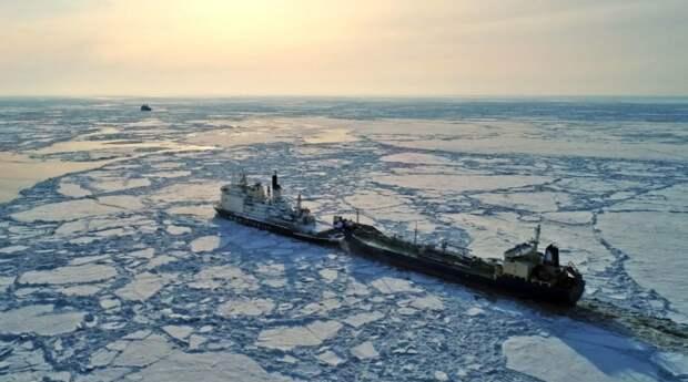 РФ забирает все морские перевозки, что заставляет Штаты и Европу изрядно нервничать