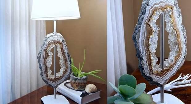 торшер и настольная лампа