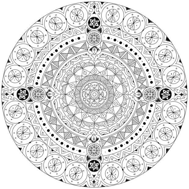 Красивая роспись подноса (тема- Скифы)