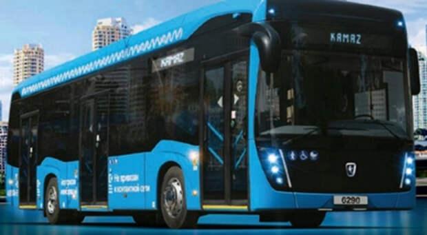 """""""КАМАЗ"""" создал пассажирский автобус на водороде"""