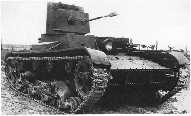 На фото – ХТ-26 военная техника, военное, история, много букв, танки, танки СССР, техника, факты