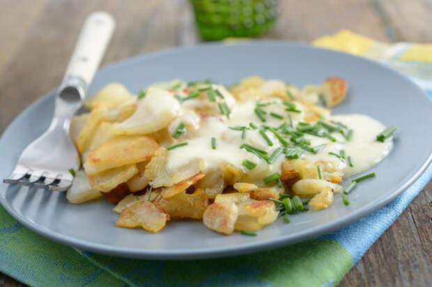 Жареный топинамбур вполне заменит картошку