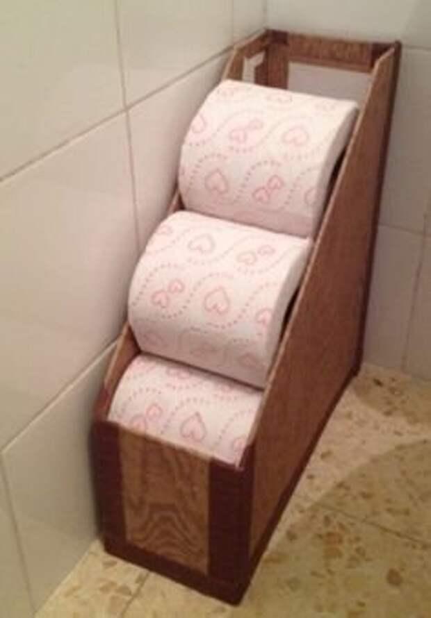 Любопытные идеи для хранения в небольших ванных комнатах