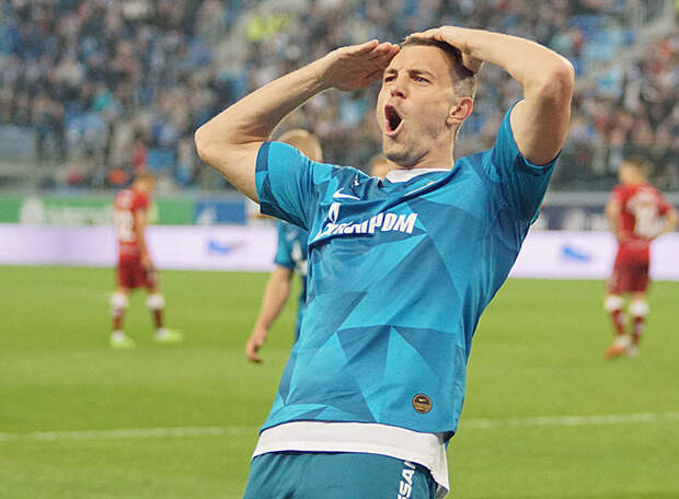 У Дзюбы - четвёртый бомбардирский результат в истории чемпионата России!