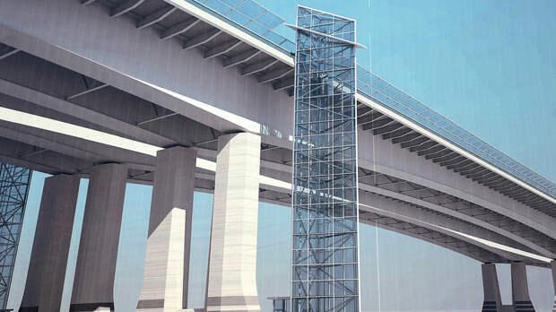 Власти Ростова-на-Дону рассказали про график работы лифтов наВорошиловском мосту