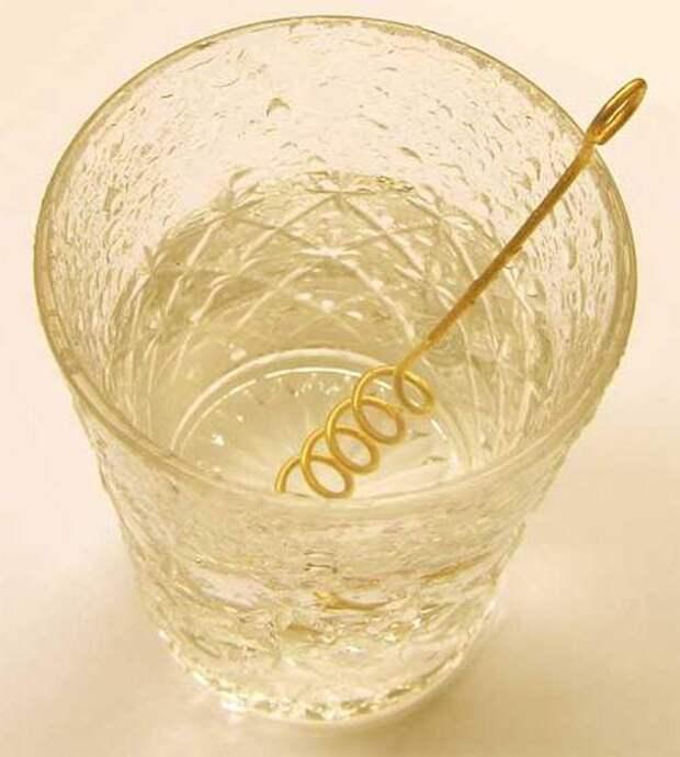 """Как сделать """"Золотую воду"""""""