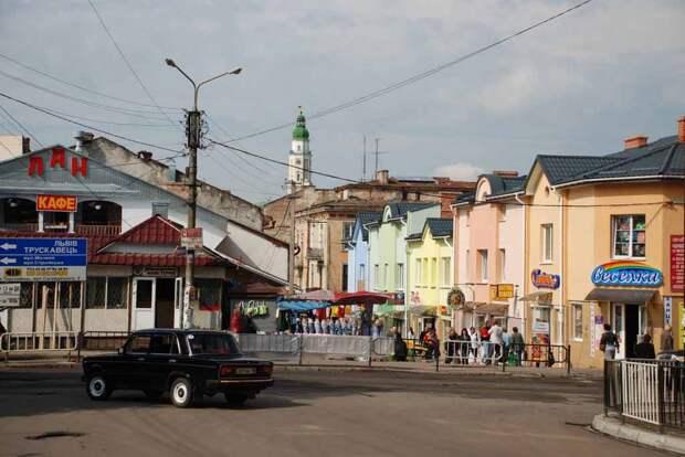 В магазинах западной Украины люди с удивлением находят российские продукты