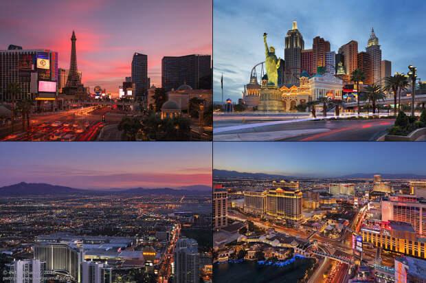 Прогулка по Лас-Вегасу