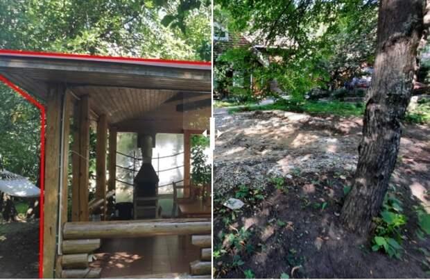В Бутырском вблизи банной усадьбы снесли незаконные постройки