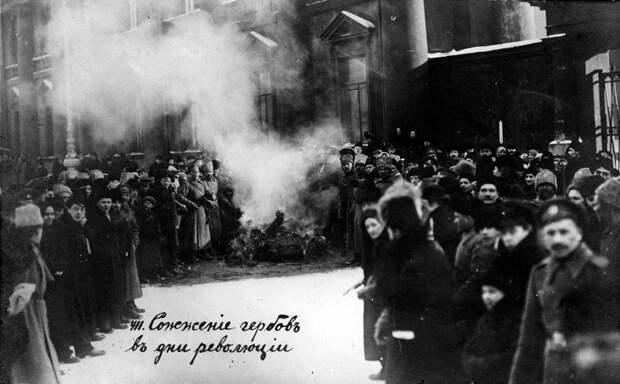 Отречение, 1917 год