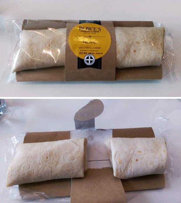 Сто раз по 5 сантиметров позволяют сэкономить до 5 метров шаурмы с фалафелем еда, кругом обман, продукты