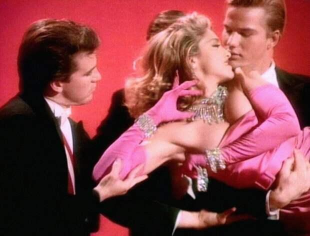Мадонна — «material Girl» (кадр из клипа)
