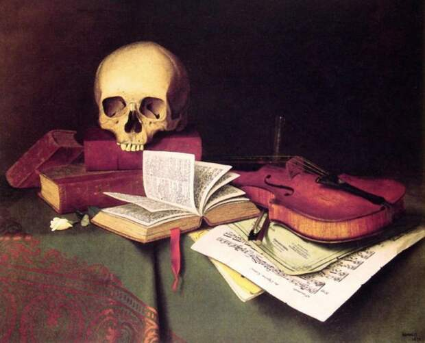 Уильям-Майкл-Харнетт--Mortality-and-Immortality