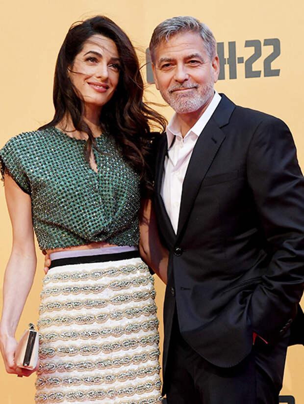 Джордж и Амаль Клуни пожертвовали 100 тысяч долларов на борьбу с последствиями взрыва в Бейруте