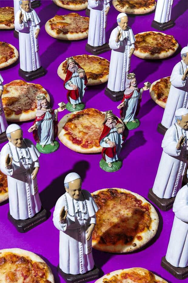 Любимая еда Дональда Трампа и других сильных мира сего в фотопроекте Дэна Баннино
