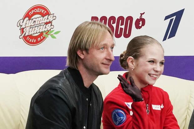 Александра Трусова не решилась на заявленный тройной аксель