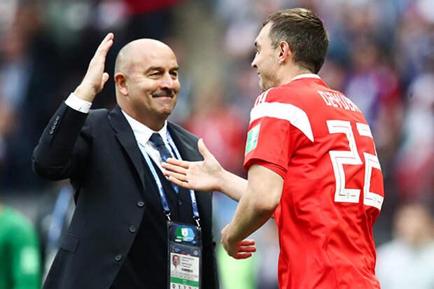 Черышев и Дзюба первыми из состава сборной поблагодарили Черчесова: «Это наша общая вина и ответственность»