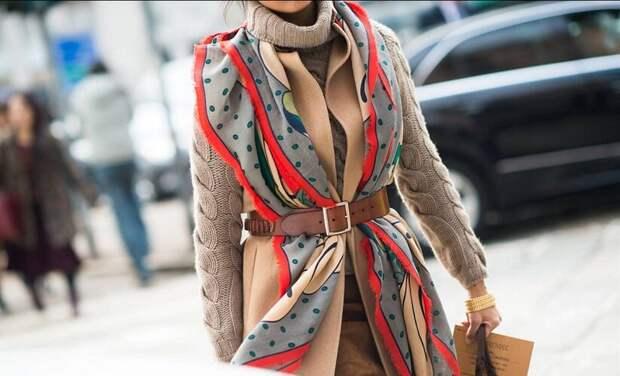 Шарфы, палантины, платки. Способы красиво завязать