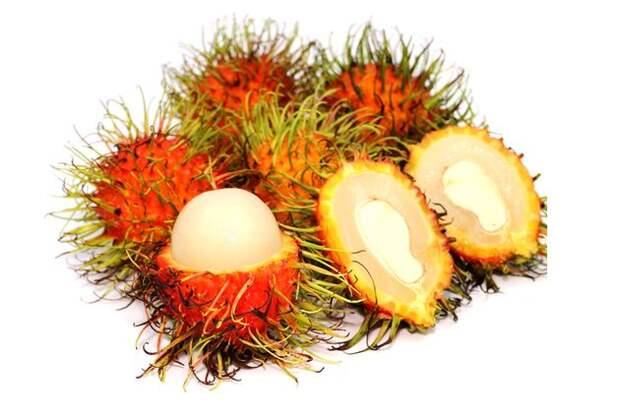 Рамбутан - оригинальный вид и экзотический вкус
