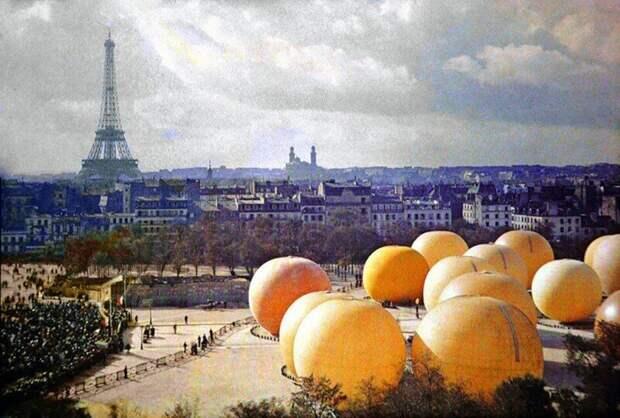 Выставка воздушных шаров, 1914 год, Париж