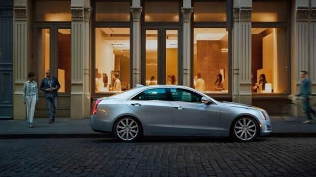 Обновленный Cadillac ATS получил более тяговитый мотор