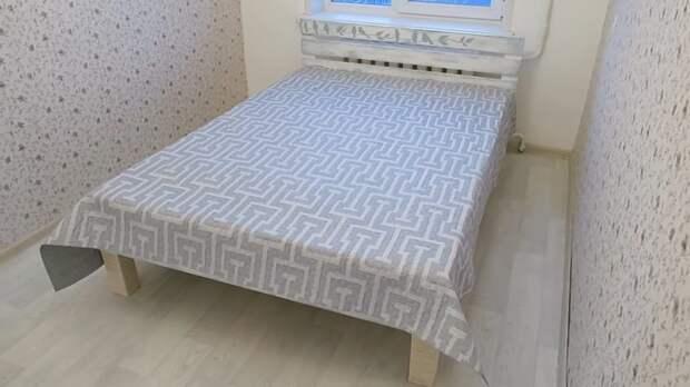Как дешево сделать самому кровать