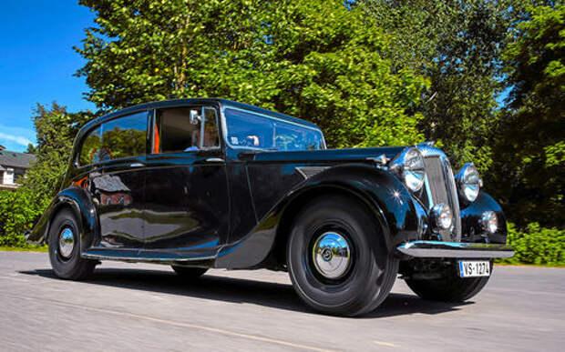 Ретротест Его Величества Daimler DE27: им рулила королева!