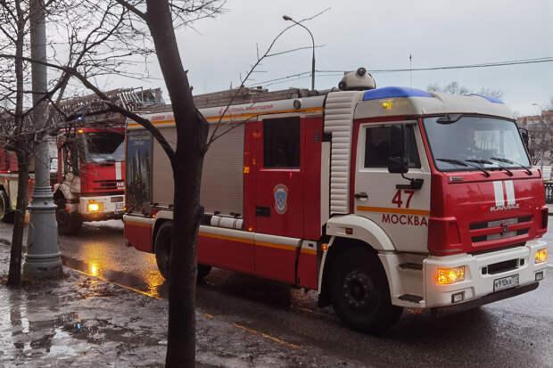 Двое пострадали при взрыве газа в доме в центре Москвы