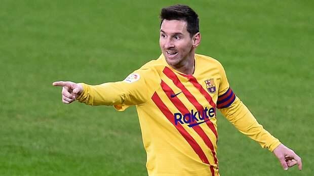 Месси забил свой 50-й гол со штрафного за «Барселону»